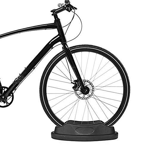 SHUAIGUO Bicicleta de Rueda Delantera Vertical Fijo Bloque Estabilizar la Ayuda del sostenedor de la Bici de Cubierta de Bicicletas Entrenador Entrenamiento 2 Piezas de Bicicleta estacionaria
