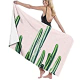N/A Cactus V6#Redbubble #Lifestyle Microfiber Bath Towel Beach Towel Beach Blanket Quick Dry Towel for Travel Swim Pool Yoga Camping Gym