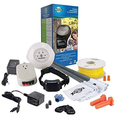 PetSafe YardMax Rechargeable In-Ground Fence for...