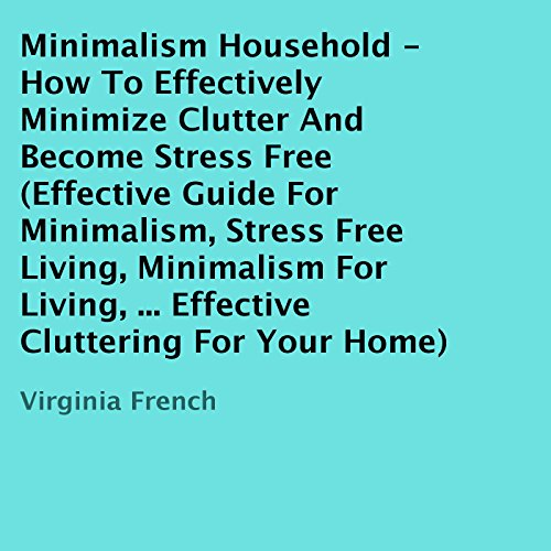 Minimalism Household audiobook cover art