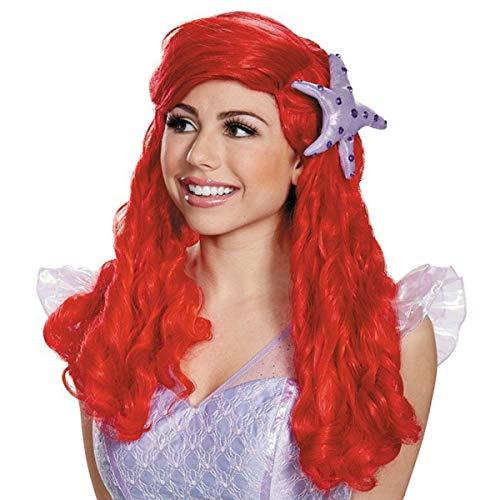 Pruik Ariel voor vrouw