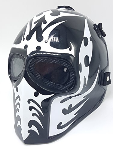 INVADER KING Army of Two Airsoft Mask Protective Gear Outdoor Sport...