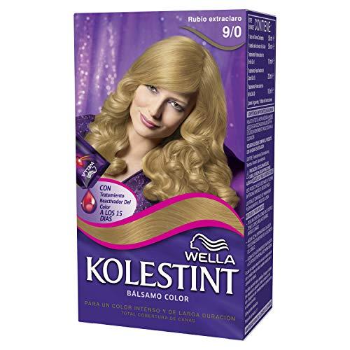 Wella Kolestint Tinte De Cabello Kit, Tono 90 Rubio Extra Claro 210 g