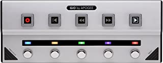 Apogee GiO-Studio quality guitar interface and foot pedal controller for the Mac
