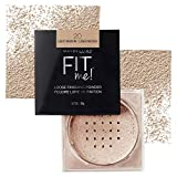 Maybelline Fit Me Loose Finishing Powder, Light Medium, 0.7 oz.