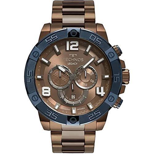 Relógio Technos, Pulseira de Aço, Masculino, Multi-Colored