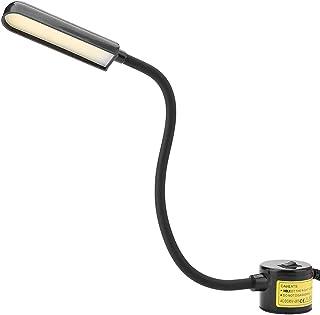Syljus – 6 W COB syarbetsljus justerbar magnetisk fot symaskinslampa 110–265 V (EU-kontakt)