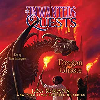 Dragon Ghosts audiobook cover art