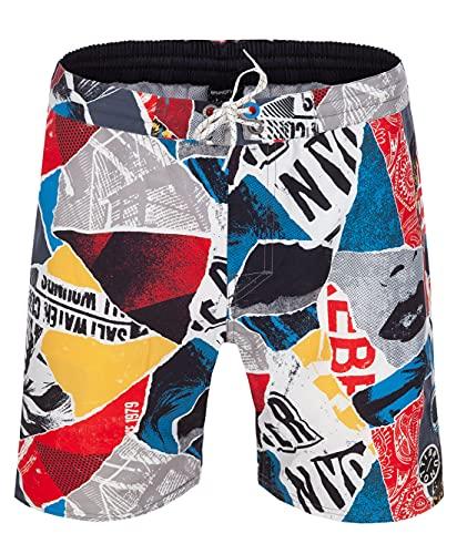 Brunotti Rebel Men Shorts Herren Badeshorts Badehose Farbe:Methyl Blue Gr.L