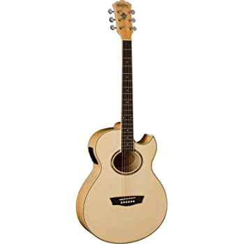 Washburn 6 String Acoustic-Electric Guitar, Right (EA20-A)