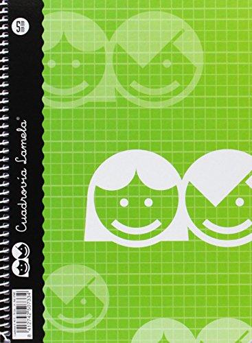 Lamela 07005 - Cuaderno básico de 40 hojas, A5, colores surtidos (1 unidad)