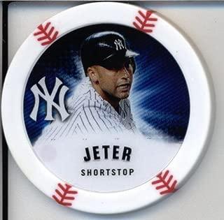 2013 Topps Chipz Baseball Poker Chip - Derek Jeter