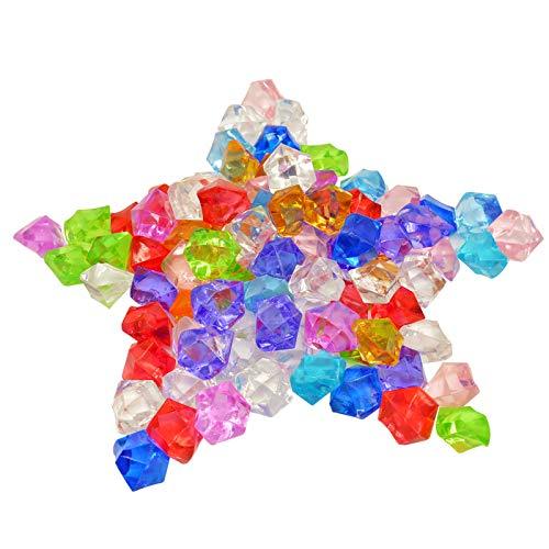 PATAZOK 120PCS Diamantes acrílico Juguete de Ice Rocks de Color Vario del...