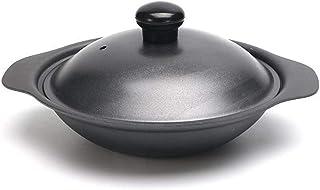 ZLJ Mini Wok en Fonte avec Couvercle 18cm / 20cm / 22cm / 24cm / 26cm / 28cm / 30cm pour cuisinière à Induction Table de p...
