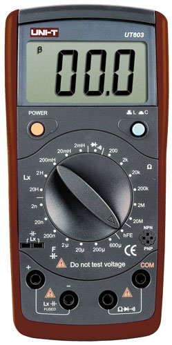 Uni-Trend UT603 - Multimeter (83 x 172 x 38 mm, LCD)