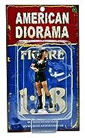 1/18 American Diorama Costume Babe - Brooke 女性 警察のコスプレ フィギュア 模型