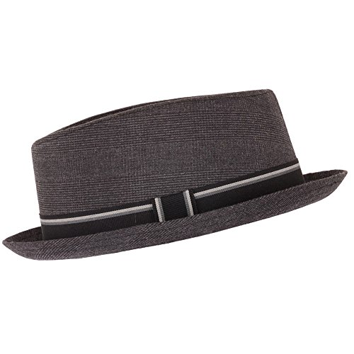 Gris porc à tarte Festival Hat Chapeau Trilby Fedora, 57, Grey - Grau - Grau, Taille unique