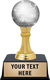 Crown Awards Disco Ball Trophies with Custom Engraving, 6
