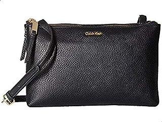 كالفن كلاين حقيبة للنساء-اسود - حقائب طويلة تمر بالجسم