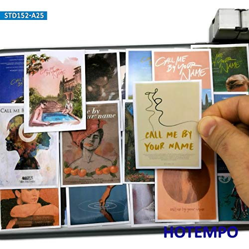 Call Me By Your Name Gay Movie Art Poster Stijl Stickers Voor Mobiele Telefoon Laptop Bagage Scrapbook Mode Stickers 25 stks