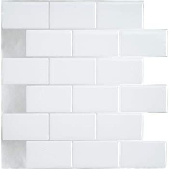 Amazon Com 10 Sheet Peel And Stick Tile For Kitchen