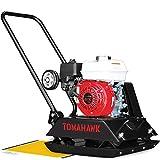 TOMAHAWK 5.5 HP Honda Vibratory Plate Compactor Tamper for Dirt, Asphalt, Gravel, Soil Compaction with GX160...