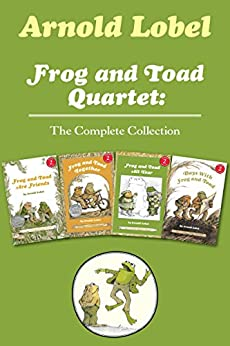 Frog and Toad Quartet: The Complete Collection: I Can Read Level 2: Frog and Toad are Friends, Frog and Toad Together, Frog and Toad All Year, Days with Frog and Toad by [Arnold Lobel]