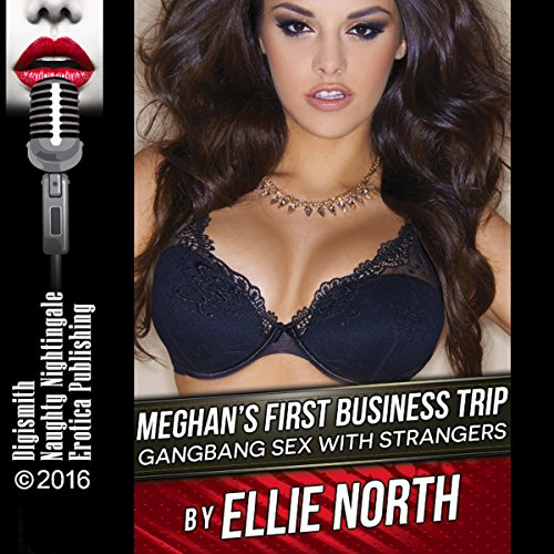 Meghan's First Business Trip: Gangbang Sex with Strangers audiobook cover art