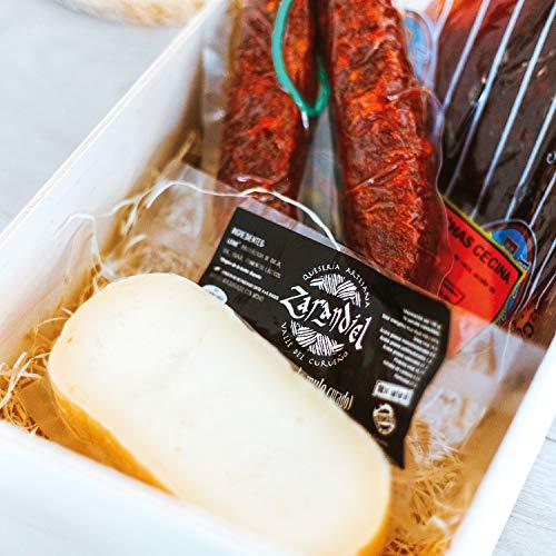 Smartbox - Caja Regalo - Cesta Gourmet de León: Chorizo Extra, cecina y Queso curado de Oveja - Ideas Regalos Originales