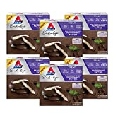 Atkins Endulge Treat Dark Chocolate Covered Peppermint Patties, Keto Friendly and Gluten Free, (Each 5 Count of 1.31 oz Bars) 6.53 oz, Pack of 6