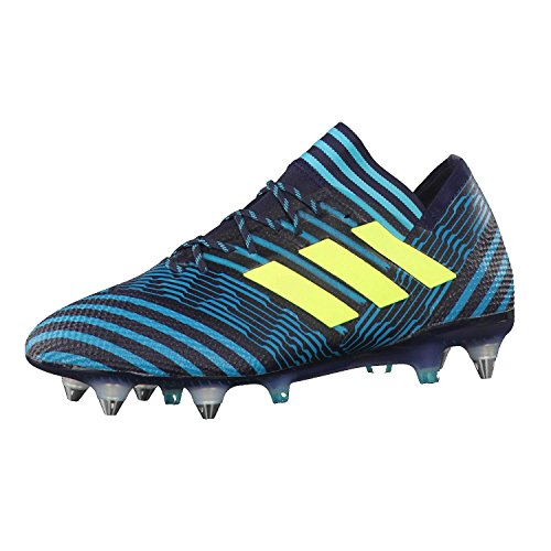 adidas Herren Nemeziz 17.1 SG Fußballschuhe, Blau (Tinley/Amasol/Azuene), 41 1/3 EU