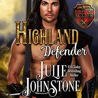Highland Defender audiobook cover art