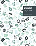 Accounting Ledger Book Income and Expense: Simple Cash Book for Small Business owners   Easy tracking