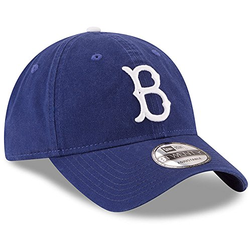 New Era Brooklyn Dodgers Cooperstown Collection Core Classic Replica 9TWENTY Adjustable Hat Royal