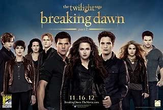The Twilight Saga: Breaking Dawn - Part 2 (2012) 11 x 17 Movie Poster - Style E