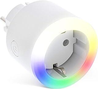 InLine 40155L SmartHome - Enchufe con Anillo LED