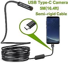 USB Snake Inspection Camera,Fantronics 2.0 MP IP67 Waterproof USB C Borescope,Type-C..