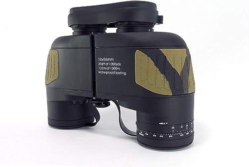 YHBH Télescope, Jumelles 10x50, portée imperméable à l'eau, télescope Grand Angle Grand Angle, luminaire portatif, équipement extérieur, Cadeau étudiant