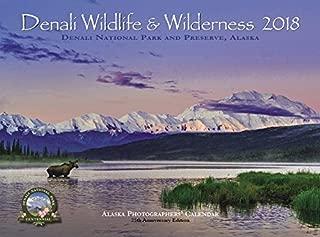 Denali Wildlife & Wilderness 2018 Alaska wall calendar