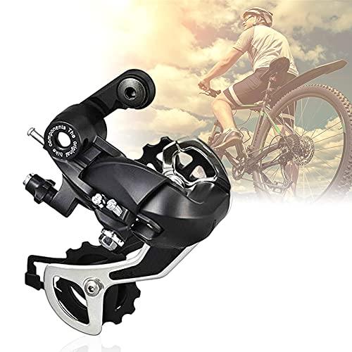 Ksopsdey Rear Derailleur, Bicicleta de montaña Profesional TX 35 Cambio de Velocidad 6/7/8 Transmisión, para Bicicleta de MTB de Ciclismo al Aire Libre