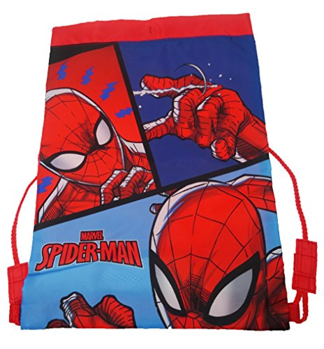 Spiderman Trainer Bag Cabas de fitness, 44 cm, Rouge (Red)