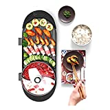 ZRSLGS Portable Electric Grill, Electric Barbecue Grill Indoor Hot Pot Chafing Dish, Indoor Teppanyaki Grill/Shabu Shabu Pot with Divider Indoor Griddle Hot Pot Plate Nonstick Electric Contact Grill P