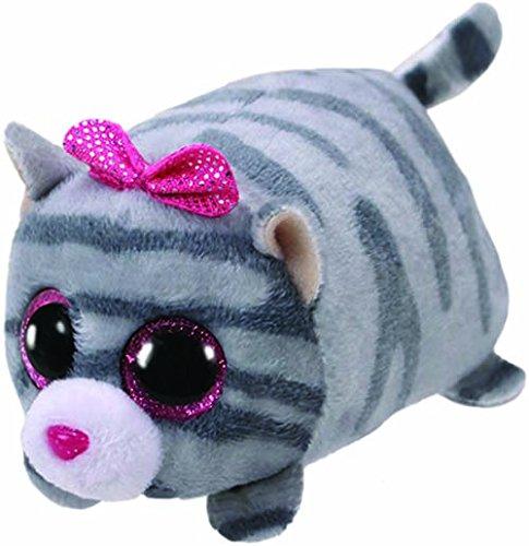 TY Cassie Cat Plüschtier grau One Size