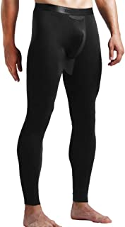 Pantalones Térmicos Hombre Ropa Interior de Caliente Invierno Pantalones Largos Calzoncillos Largos con Capa Interior de S...