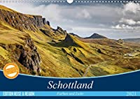 Schottland Farben und Licht (Wandkalender 2021 DIN A3 quer): Beeindruckende Aufnahmen von den Landschaften Schottlands (Monatskalender, 14 Seiten )