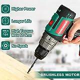 Zoom IMG-1 trapano avvitatore batteria brushless 18v