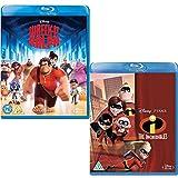 Wreck It Ralph - The Incredibles - Walt Disney 2 Movie Bundling Blu-ray