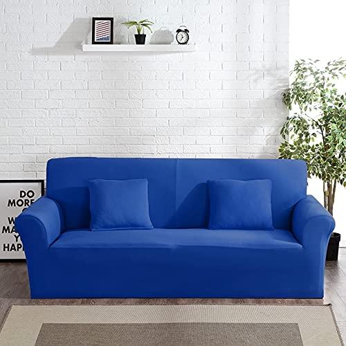 PPOS Funda de Licra para sofá, Muebles, sillón, Sala de Estar Moderna, Funda para sofá, Funda elástica elástica para sofá, A9, 3 Asientos, 190-230cm-1pc