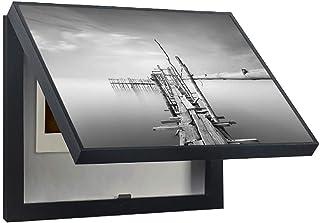 LITING Simple y Moderno medidor de Tapa magnética Caja de Etiquetas Adhesivas Cubierta de distribución Caja de Interruptor de alimentación Cuadro Decorativo