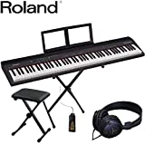 Roland ローランド GO PIANO 88 (X型キーボードスタンド/キーボード椅子付)電子キーボードセット
